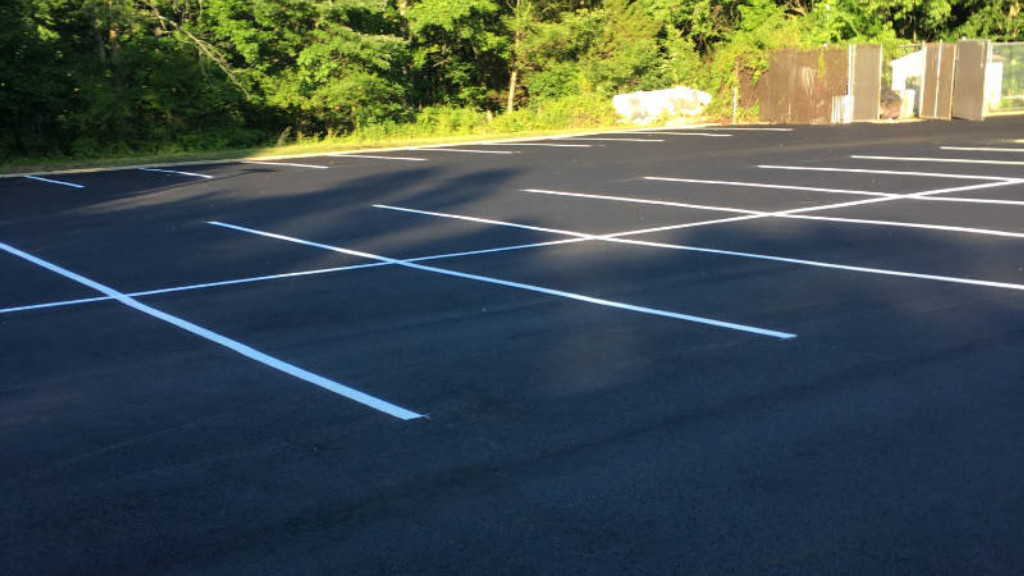 Parking Lots, Line Striping,  Handicapped markings