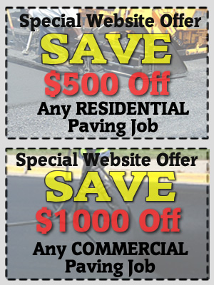 Save on your next paving job!
